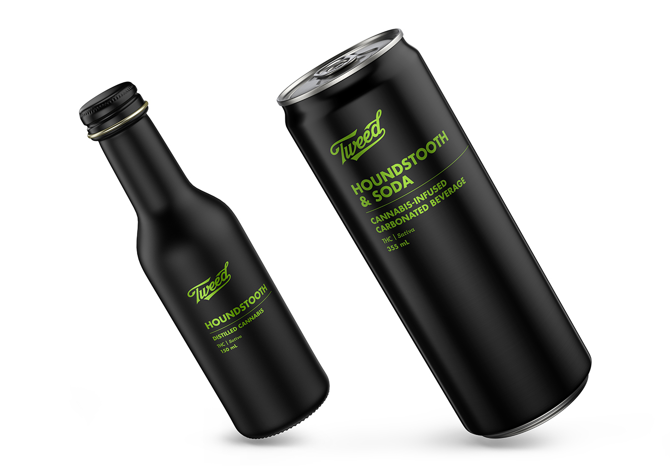 Houndstooth cannabis-infused drinks in both Ready-to-Drink and Distilled Cannabis form